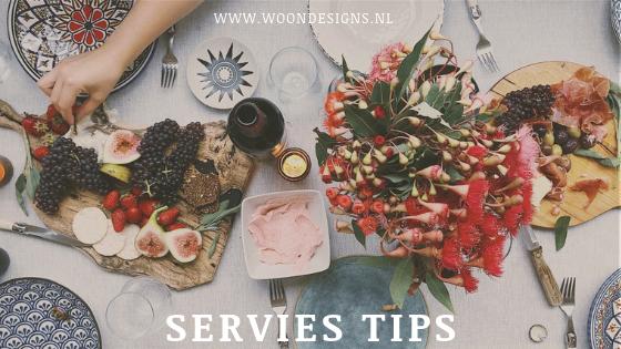 Servies tips