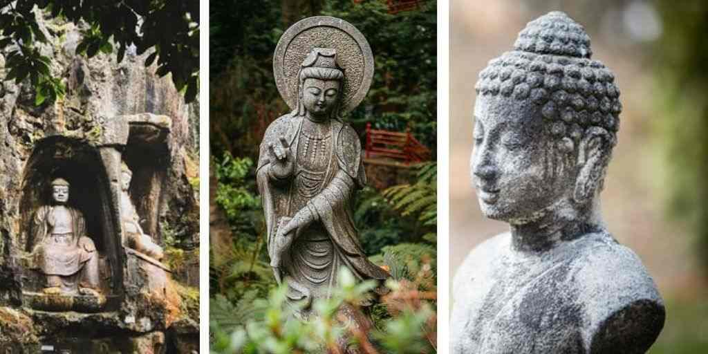 Chinese tuinbeelden