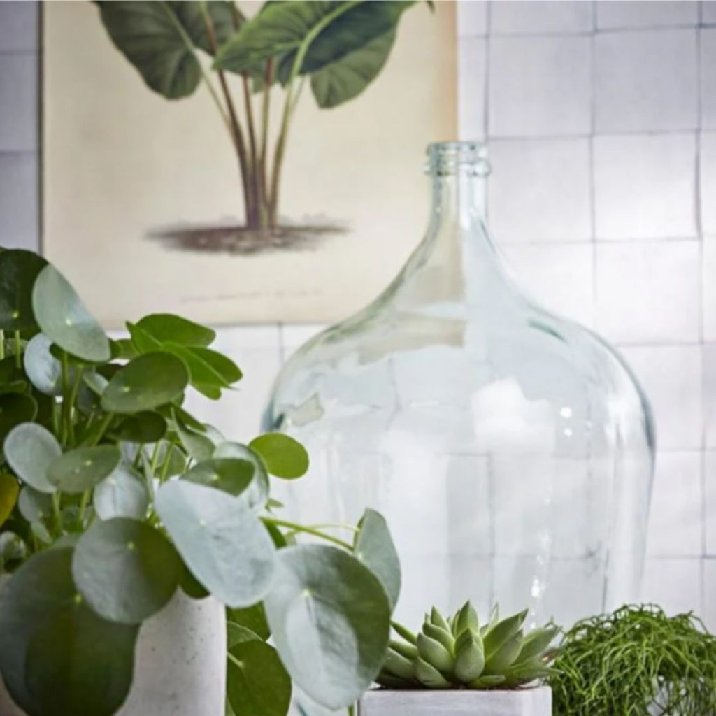 Gekleurde glazen vasen